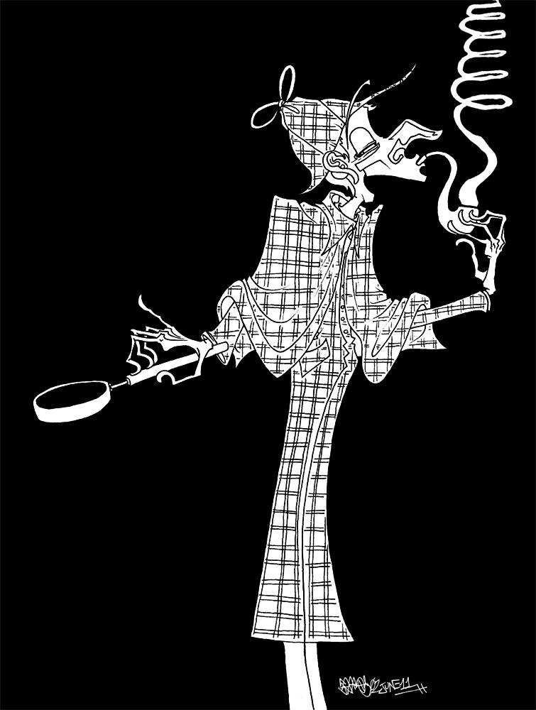 Sherlock Holmes by JoJo-Seames