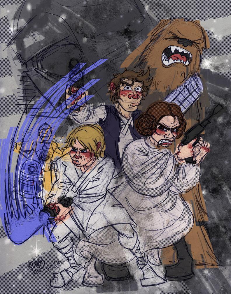 Star Wars by JoJo-Seames