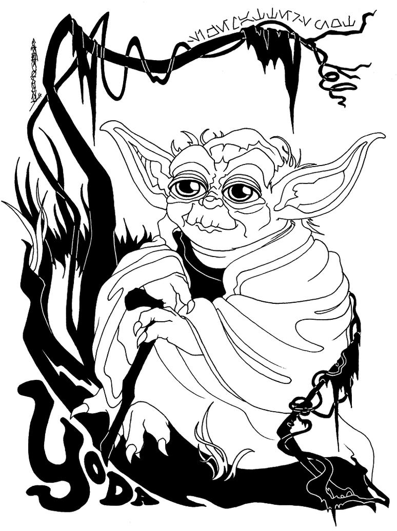 Viewing Gallery For - Yoda Face DrawingYoda Face Drawing