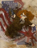 Agent Peggy Carter by jojoseames