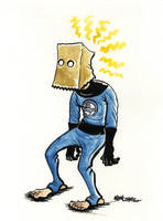 The Amazing Bag-Man by jojoseames