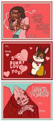 Makeshift Valentines by jojoseames