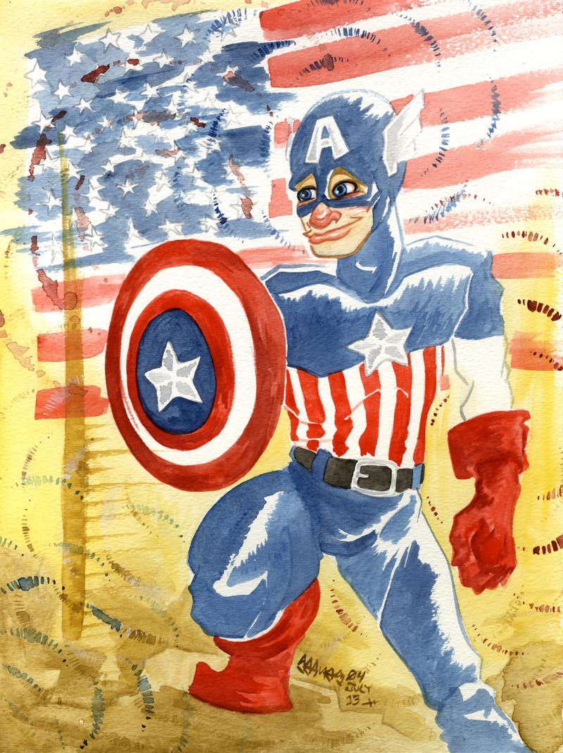 Captain America by JoJo-Seames