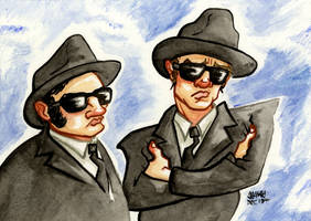 The Blues Brothers by jojoseames