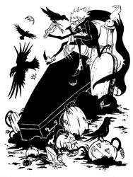 Black Wings by jojoseames