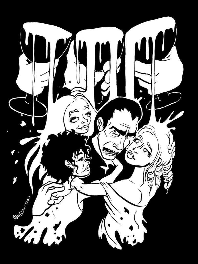 Taste the Blood of Dracula by JoJo-Seames
