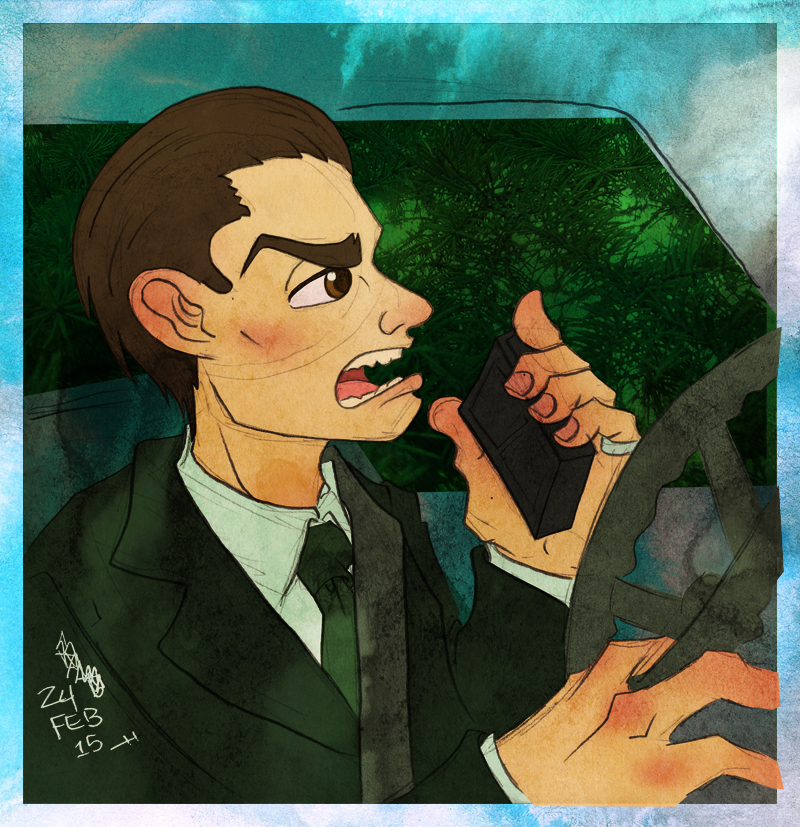 Special Agent Dale Cooper by JoJo-Seames