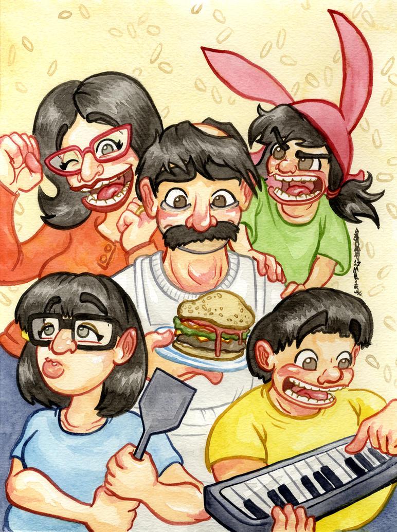 Bob's Burgers by JoJo-Seames