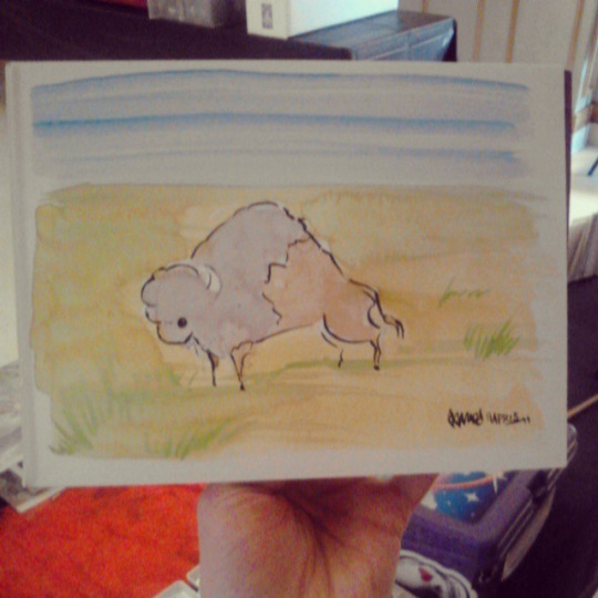 Bison by JoJo-Seames