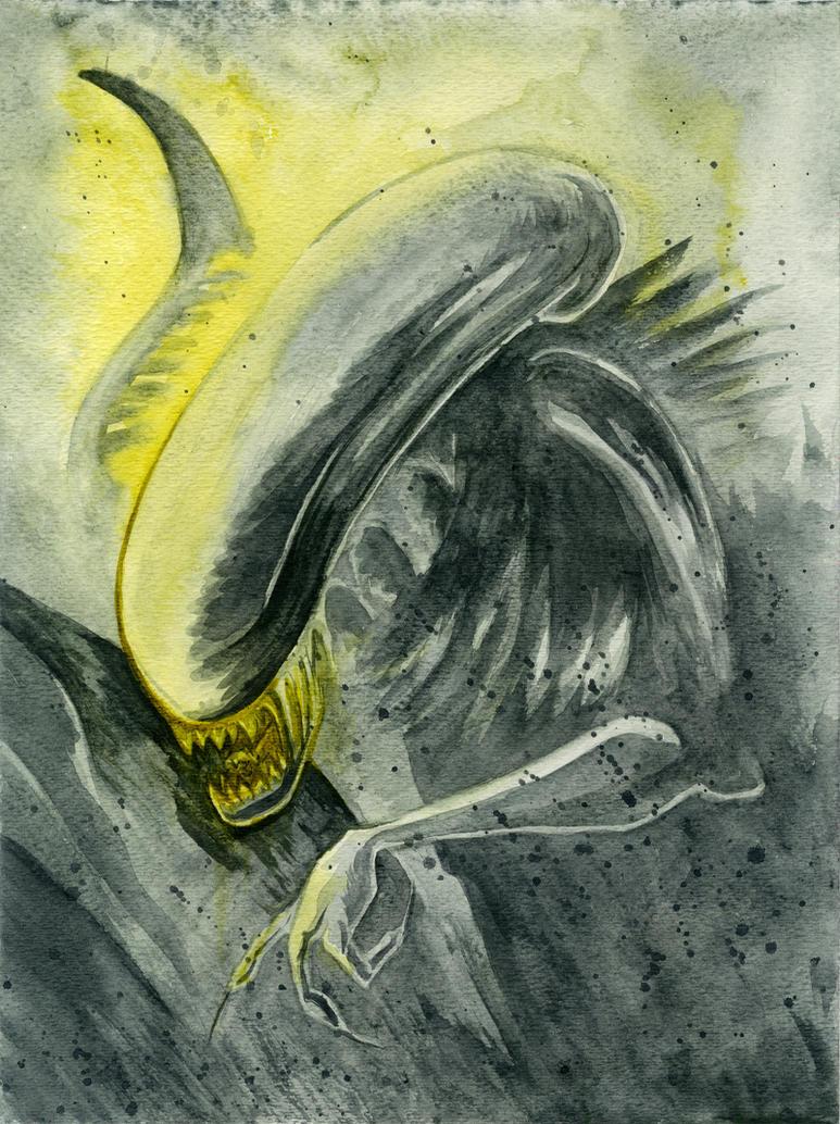 Alien by JoJo-Seames