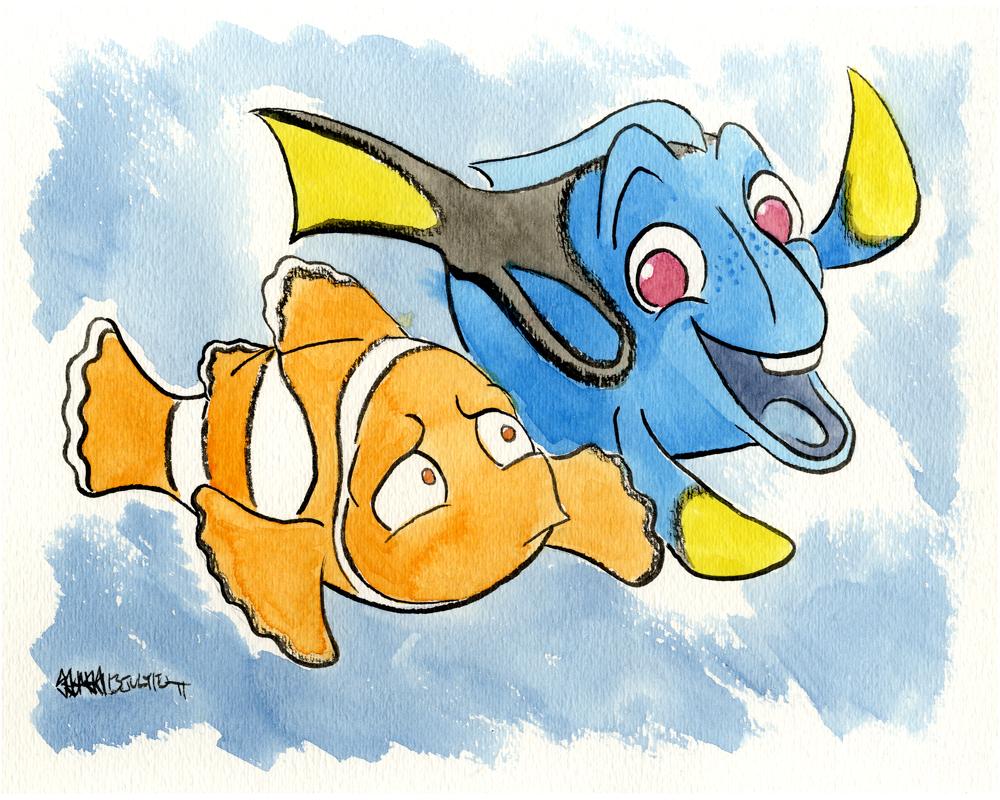 Finding Nemo by JoJo-Seames