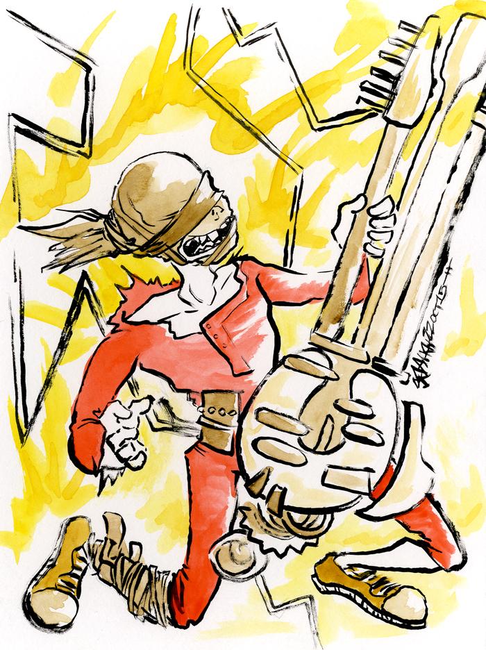 Coma-Doof Warrior by JoJo-Seames