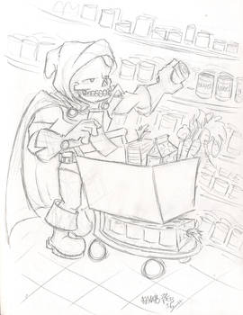Taskmaster Goes Grocery Shopping