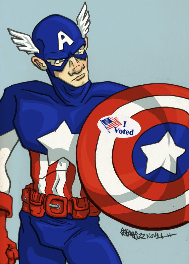 Captain America by JoJo-Seames