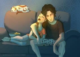 Sleeping in by Axxirah