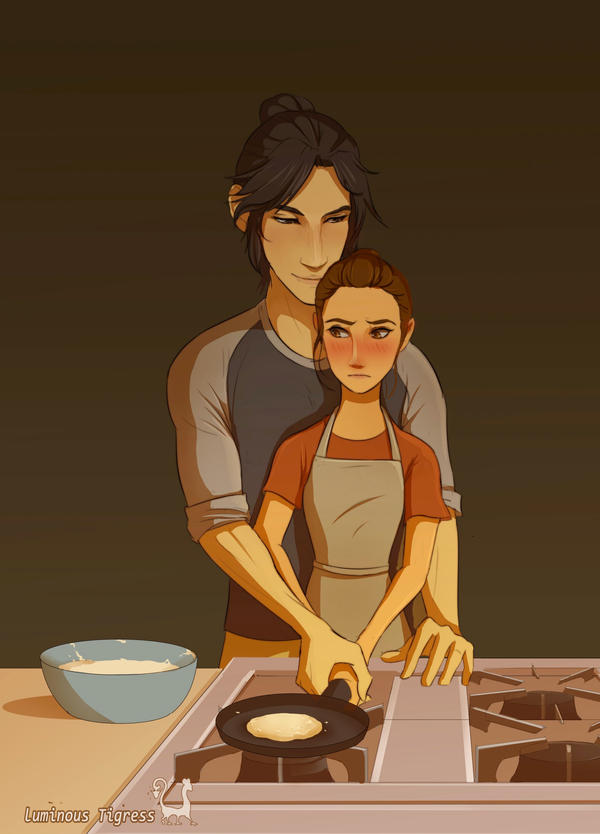 Cooking lessons by luminoustigress