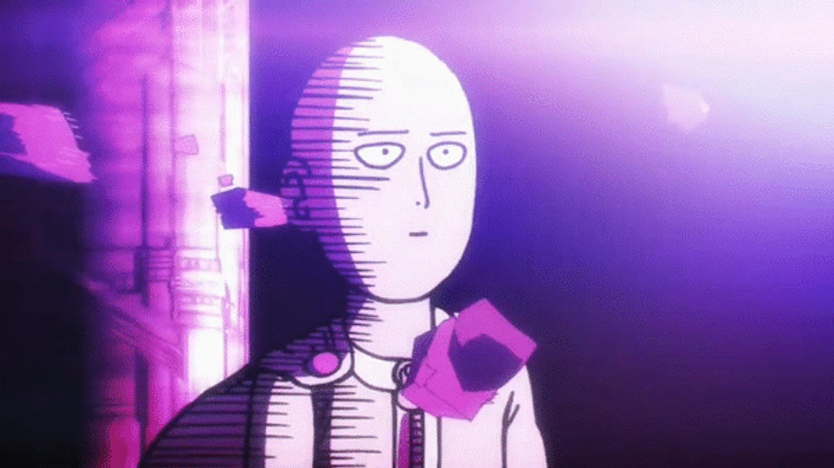 One punch man saitama the face of indifference by - Funny one punch man wallpaper ...