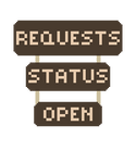 Requests Open Signs