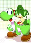 Yoshi and pange