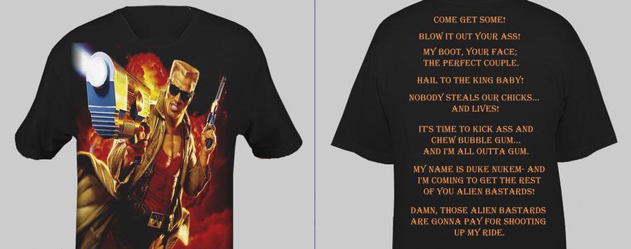 Duke Nukem Shirt