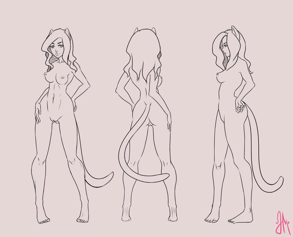 Evangeline character sheet by Kooroe