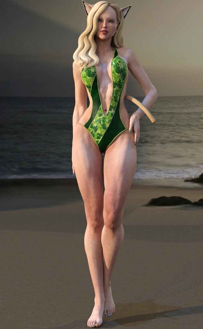 Eva Beach by Kooroe