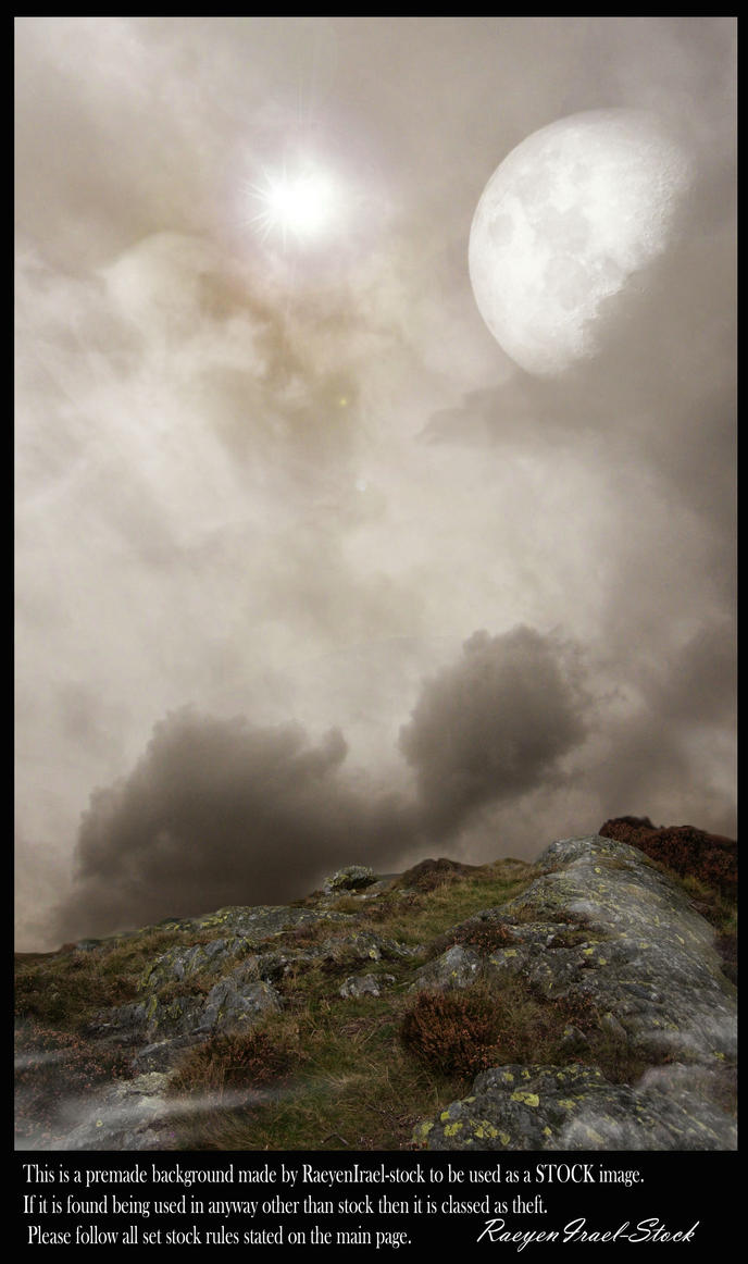 Premade Cliffside Background by RaeyenIrael-Stock