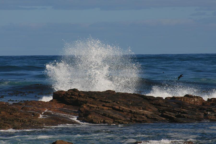 Waves Rock Stock 3 by RaeyenIrael-Stock