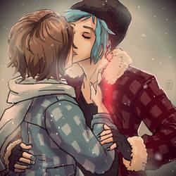Life Is Strange - Max and Chloe kiss 2