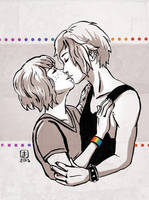 Life Is Strange - Max and Chloe kiss 2 by Maarika