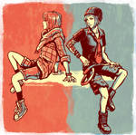 Life is Strange - Max and Chloe -  Alt outfits