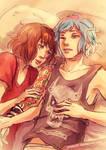 Life is Strange - Max and Chloe - cuddles 2