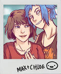Life is Strange - Max and Chloe - Polaroid 2
