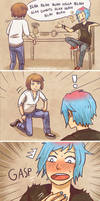 Life is Strange - Max and Chloe - Proposal comic