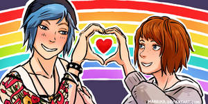 Life is Strange - Max and Chloe - Rainbow