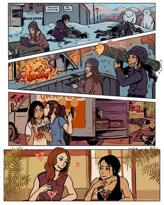 Person of Interest - Root and Shaw 3x20 by Maarika