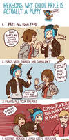 Life Is Strange - Max and Chloe - puppy comic