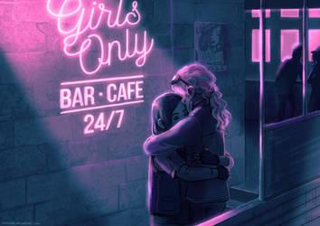'80s gals - Neon by Maarika