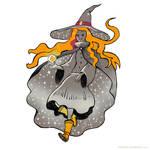 Inktober 2017 Star Witch