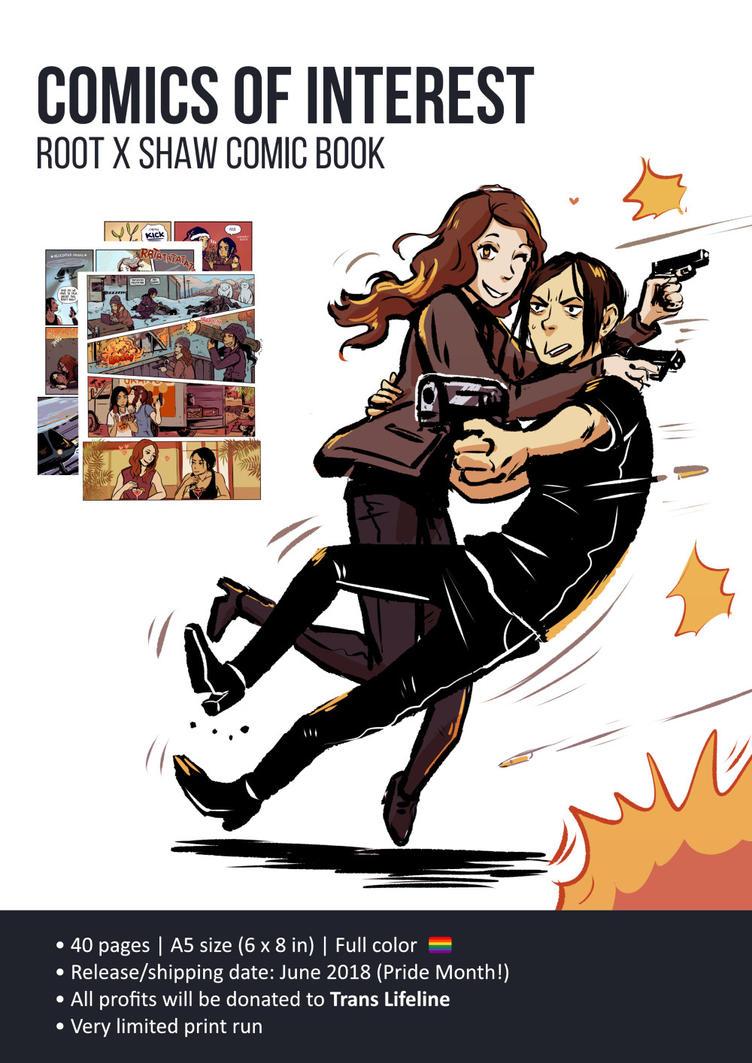 Comics of Interest - Shoot comic book by Maarika