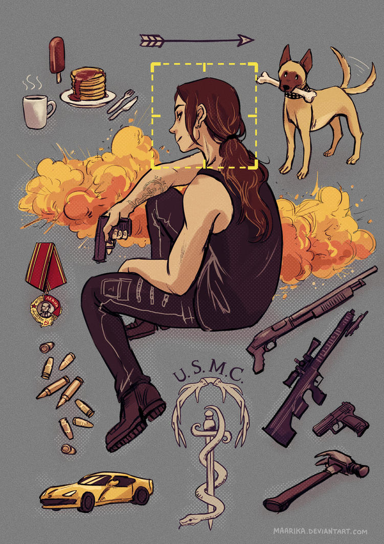 Person of Interest - Shaw things by Maarika