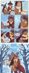 Sunny and Rainy 07 - Winter kiss by Maarika
