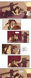 Person of Interest - Root and Shaw Ugly Bat by Maarika