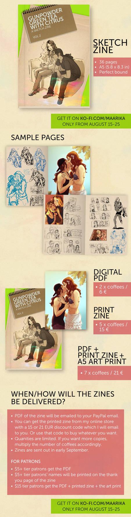 Sketchbook Zine - coming very soon!