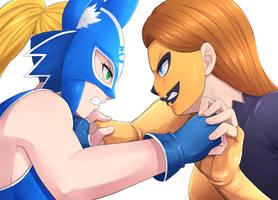 Blue Fox VS Jacka Lantern