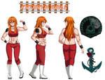 Kathryn Rails Character Sheet by TigerFey