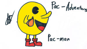 Pac-Man Pac-Adventure by afl300