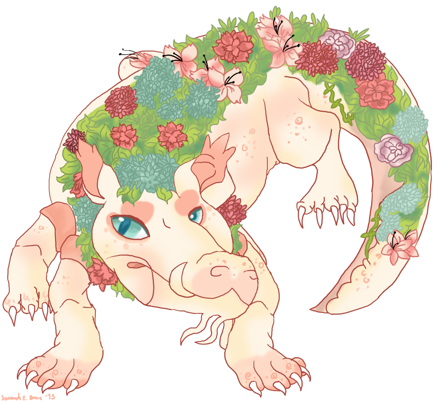 The Maw of the Flowergator .:gift:. by Combat-Bun
