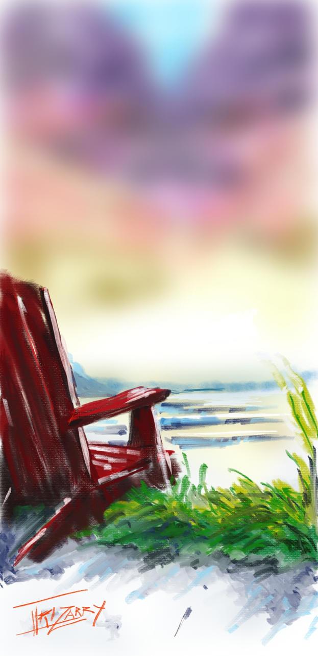 Beach Chair by Kavernicola