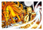 Naruto and Kyubi